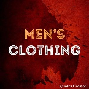All Men's Clothing,Shoes and accessories